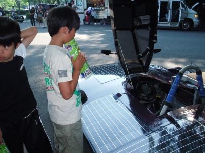 マサヤと電気自動車
