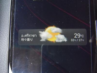 タイ 気温